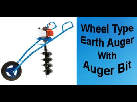 Earth Auger - Buy Post Hole Diggers, Petrol Earth Auger Online at low Prices on Krishitool.com