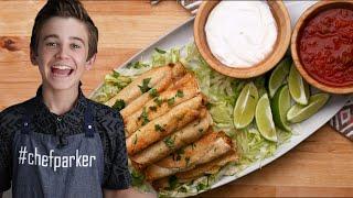 Gluten-Free Chicken Taquitos As Made By Parker Bates •Tasty
