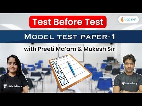 UGC NET Paper -1 Mock Test | Most Imp Questions on Latest Pattern | Preeti Sharma & Mukesh Pancholi