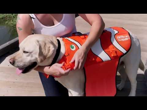 Outward Hound Ripstop Schwimmweste für Hunde
