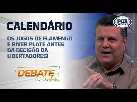 OS JOGOS DE FLAMENGO E RIVER PLATE ANTES DA DECISÃO DA LIBERTADORES!