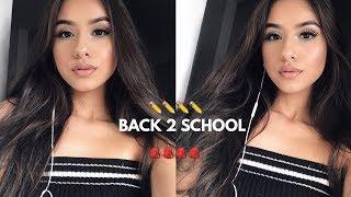 BACK TO SCHOOL MAKEUP 2017-2018 | Anais Lopez - Video Youtube