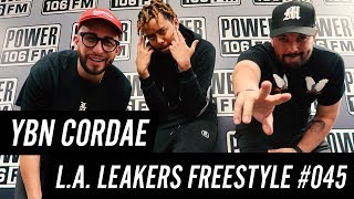 #YBN Cordae #Freestyle w/ The L.A. Leakers - Freestyle #045