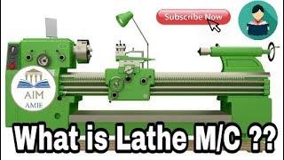 How a Lathe Machine Works???    Engineer's Academy  