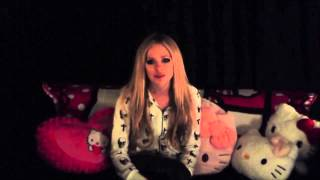 Аврил Лавин,  Avril Lavigne video message for Avril Bandaids Italia