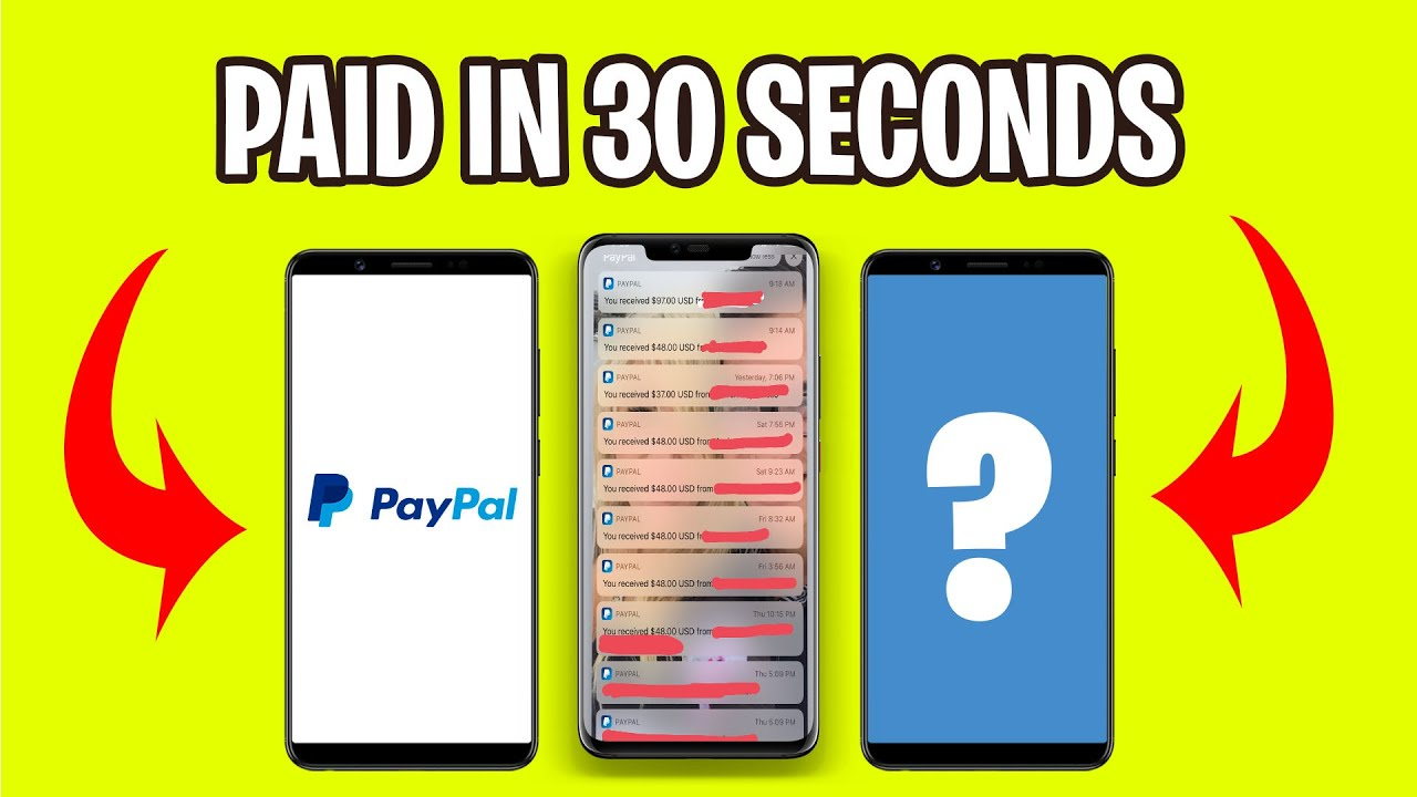 5 Apps That PAY YOU $100 IN PAYPAL CASH (Generate Income Online Today)