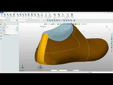 Larystudio 3D shoe design software  Brown shoe