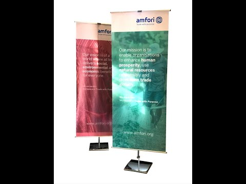 Smart Roll Up Displays