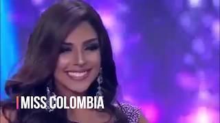 TOP FAVORITAS A MISS UNIVERSO 2017 - 2018
