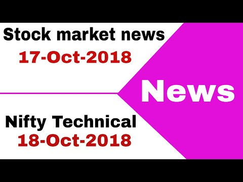 Stock market news #17-Oct-2018 - NBCC, ADANI WIND ENERGY, INFOSYS, ZYDUS CADILA,  NIIT 🔥🔥🔥