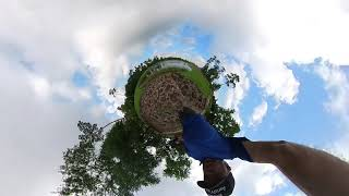 FPV Walk with the #Insta360oneX2 at The Park. #shorts
