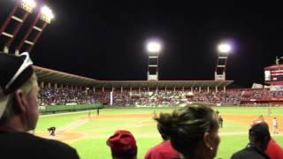preview picture of video 'Cuban Baseball - Leopardos de Villa Clara vs Los Cocodrilos de Matanzas, Monday February 17th 2014'