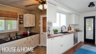 Budget-Friendly Cottage Kitchen Reno
