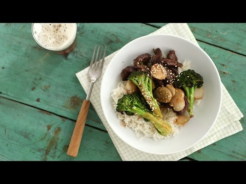 Broiler Beef & Broccoli – Everyday Food with Sarah Carey