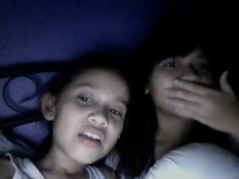 Late night webcam with little sister.mov
