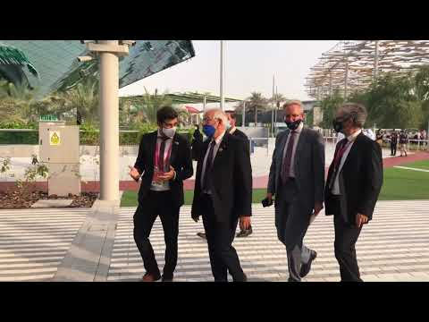 Josep Borrell visits Spain Pavilion at Expo 2020 Dubai