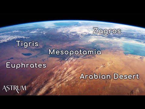 An unprecedented orbital view of the Middle East's most spectacular mountains   4K
