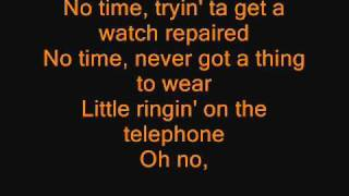 Anthrax - Got The Time (LYRICS)