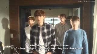 [ENG SUB] EXO - FIRST LOVE (EXO NEXT DOOR ver)