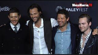 Supernatural Cast Jared Padalecki, Jensen Ackles, Misha Collins 2018 PaleyFest LA