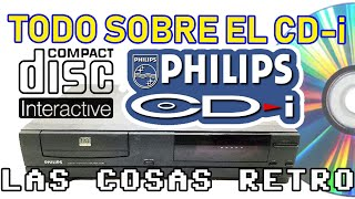 TODO sobre el PHILIPS CD-i 💿 El Disco Compacto INTERACTIVO y MULTIMEDIA