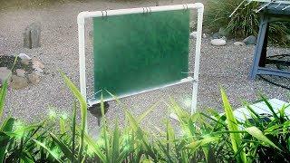 DIY Fog Fence! New Design!! Hi-Efficiency Fog Net! New Material!  Harvest Water from Mist & Fog! $25