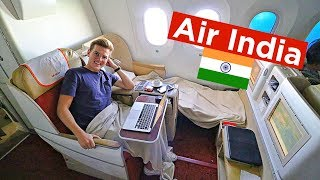 I TRIED FLYING AIR INDIA 787 BUSINESS CLASS!