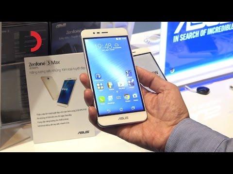 Trên tay Asus Zenfone 3 Max - Năng lượng siêu khủng, Kim loại tuyệt đẹp
