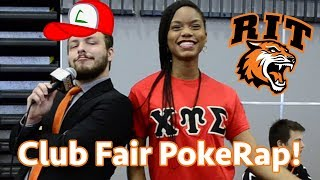 The 2017 RIT Club Fair PokeRap