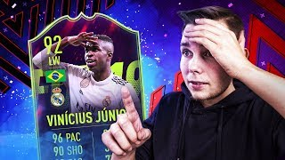 Niesamowity DRAFT z VINICIUSEM! - FIFA 19 Ultimate Team [#72]