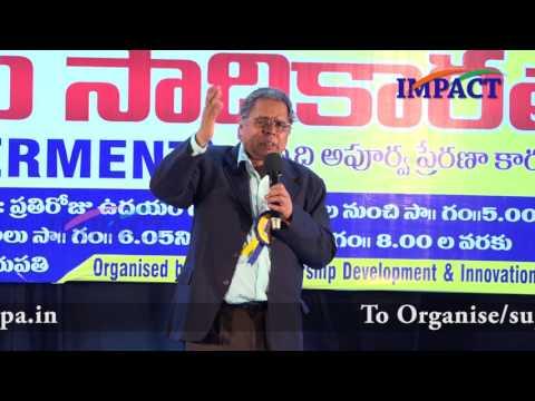 Sharp Mind | GL Manohar | TELUGU IMPACT Tirupati 2017