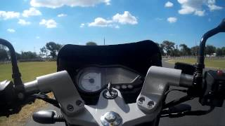 preview picture of video 'Autodromo Roque Perez - Giros guiados Club FZ Argentina 29-12-13'