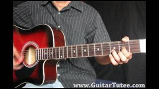 If I Were A Boy (Beyonce Knowles, by www.GuitarTutee.com)