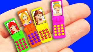 5-minute Barbie Hacks : Barbie phone, Washing Machine, and more