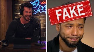 """""""WHAT A PIECE OF SH*T: Jussie Smollett""""   Louder With Crowder"""