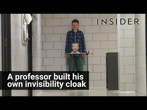 Cheap homemade invisibility cloak