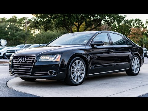 Pre-Owned 2012 Audi A8 L 4dr Sdn