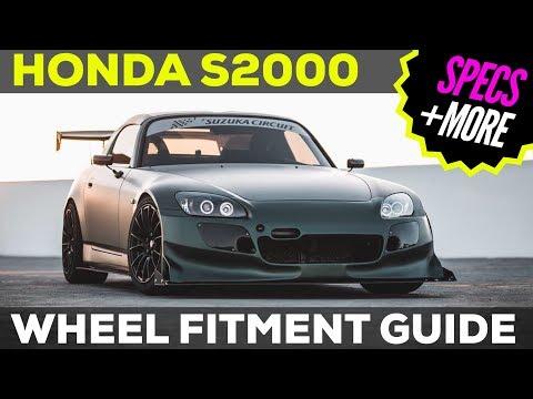 HONDA S2000 WHEEL FITMENT GUIDE