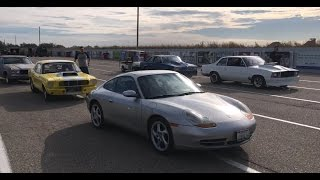 Porsche 911 with 243,000 miles goes DRAG RACING