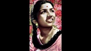 LATA JI~Film~KHILADI~{1950}~Dard-e- Dil Tham Ja Zara