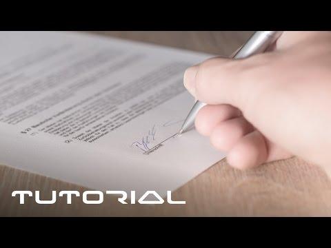 PDF-Dokumente unterschreiben - EINFACH SO - ohne sie zu drucken - Tutorial