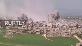 Syria: Intense fighting as government forces recapture Maardis