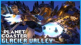 BEST SPINNING COASTER! Glacier Valley Twist! Coaster Spotlight 166 #PlanetCoaster