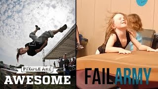 People Are Awesome vs FailArmy   Gymnastics edition