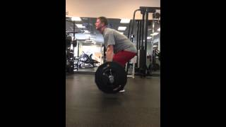 Deadlifts , not perfect but working on it - Video Youtube