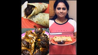 #IndianStreetFood  | Manchurian Frankie from Milu's Kitchen