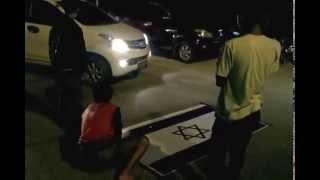 preview picture of video 'Aksi Kendari Kreatif menentang Israel di Kopi KK'