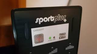 SportPlus Ruderergometer mit APP-Steuerung