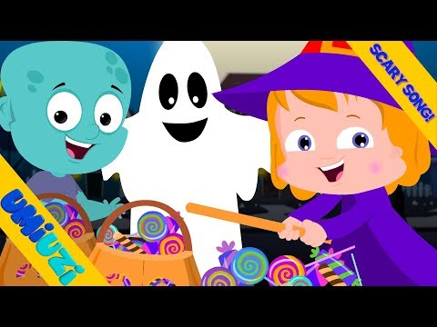 Umi Uzi | Knock Knock | Trick Or Treat | Halloween Songs For Toddlers | Kids Rhymes