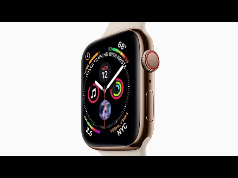 This is Apple Watch Series 4